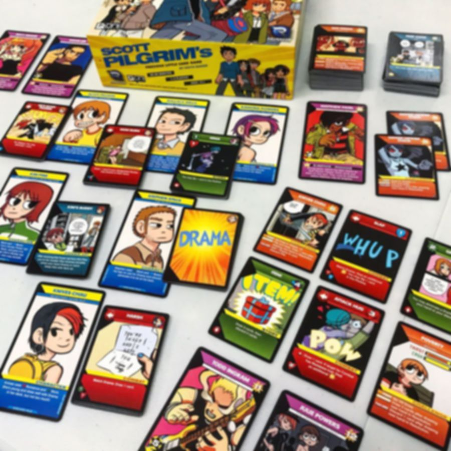 Scott Pilgrim's Precious Little Card Game carte