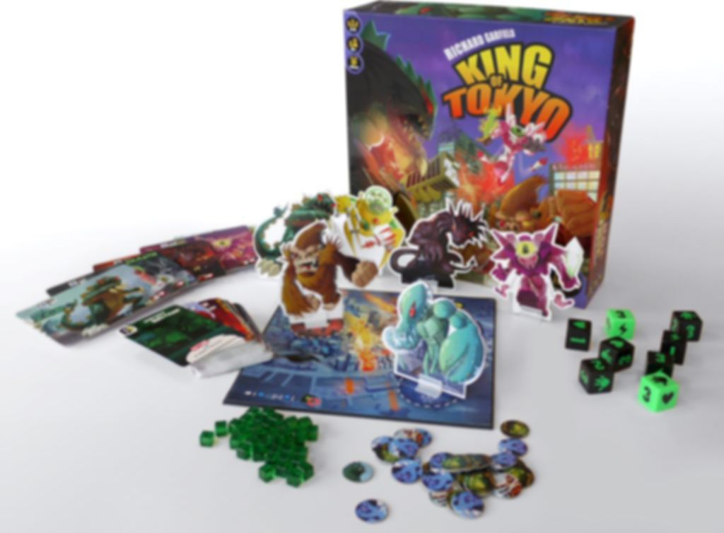 King of Tokyo components