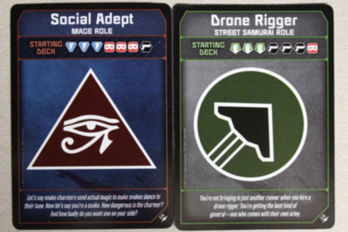 Shadowrun: Crossfire - High Caliber Ops cards