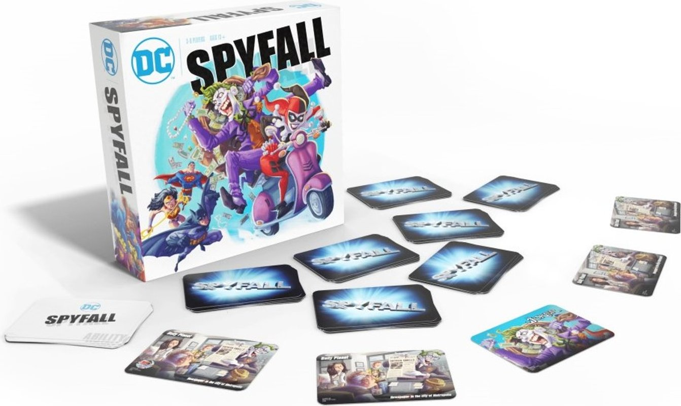DC Spyfall components