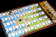 Kingdomino Duel game board
