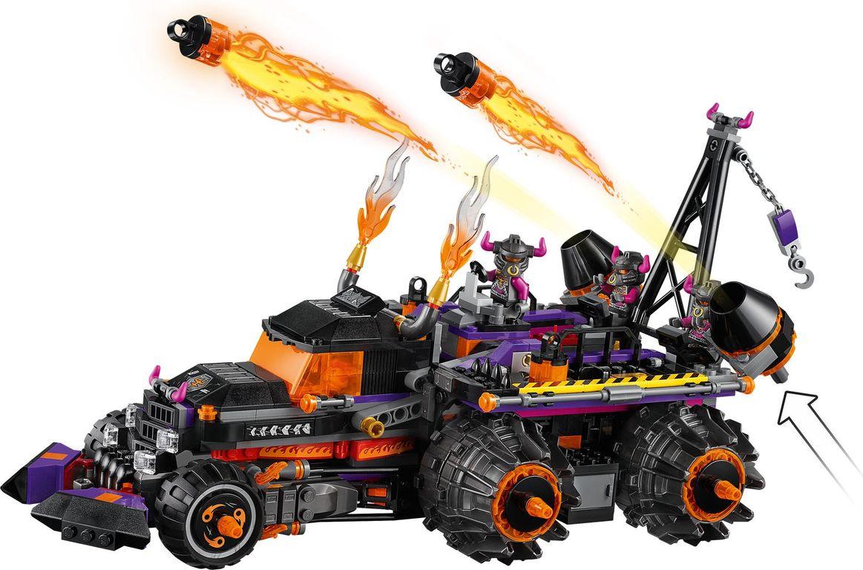 LEGO® Monkie Kid Red Son's Inferno Truck gameplay