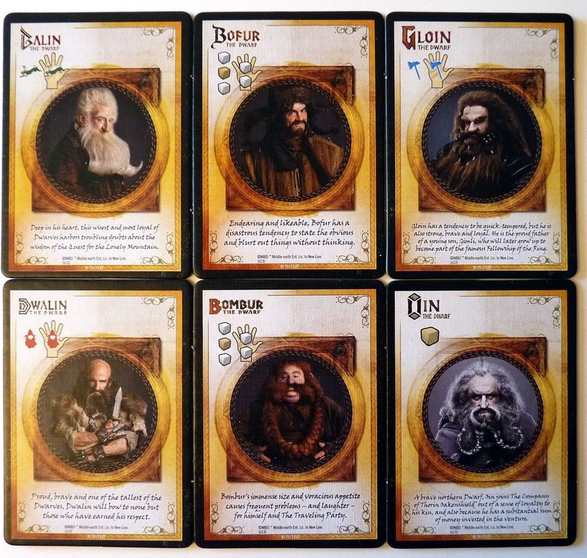 The Hobbit: An Unexpected Journey cards