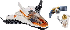 LEGO® City Satallite Service Mission components