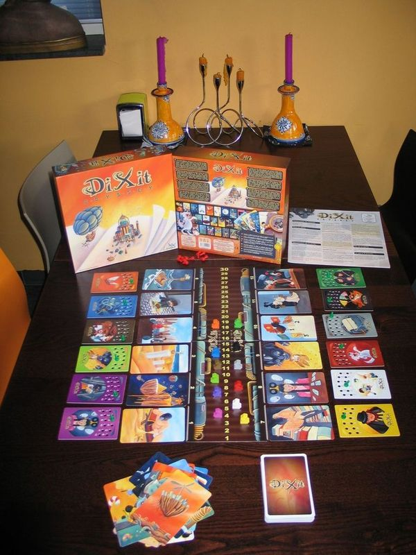Dixit Odyssey components