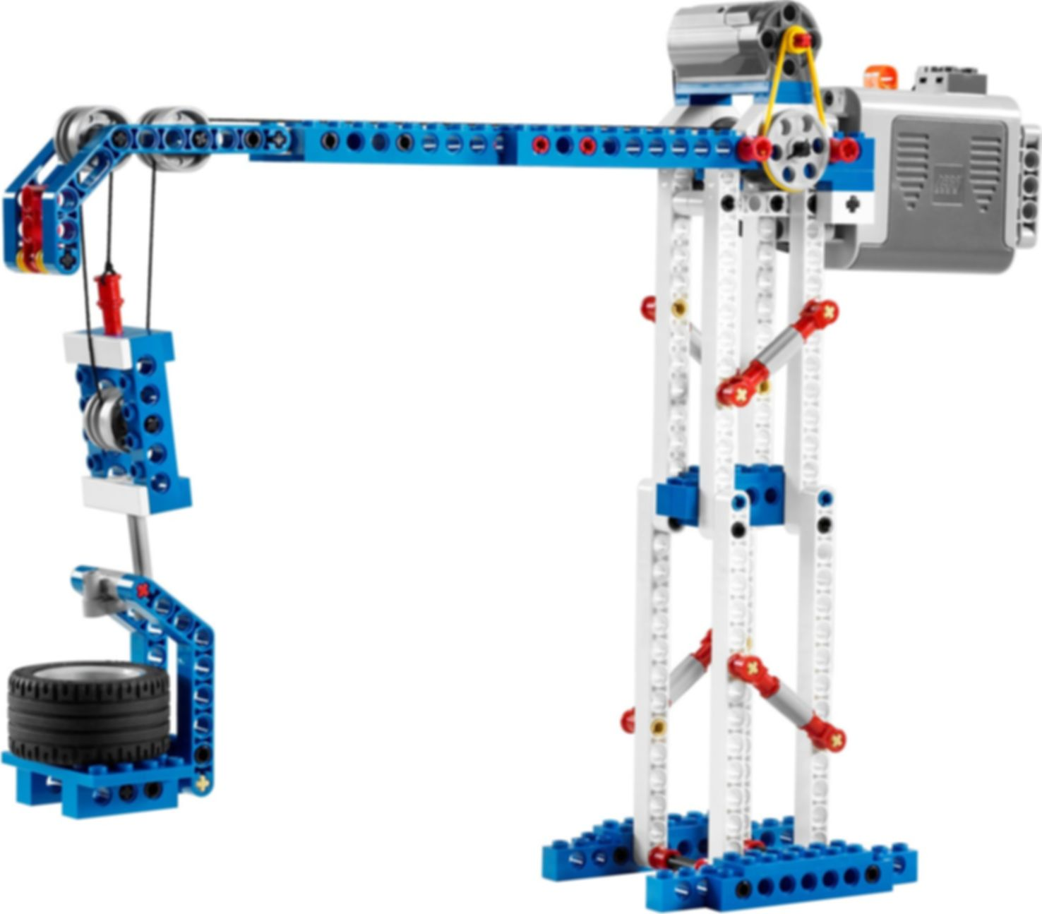 Simple & Powered Machines Set components