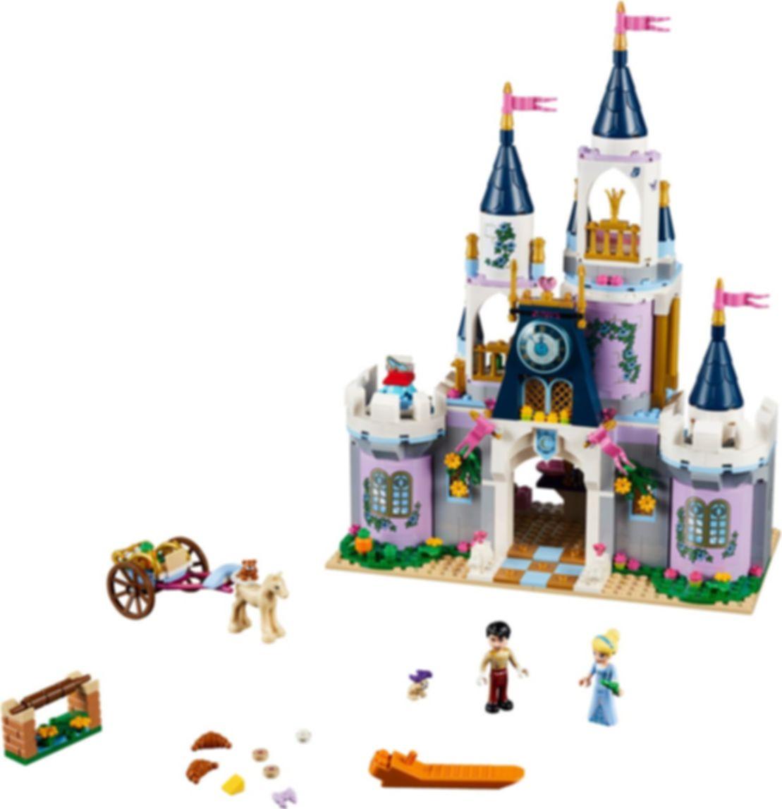 Cinderella's Dream Castle components