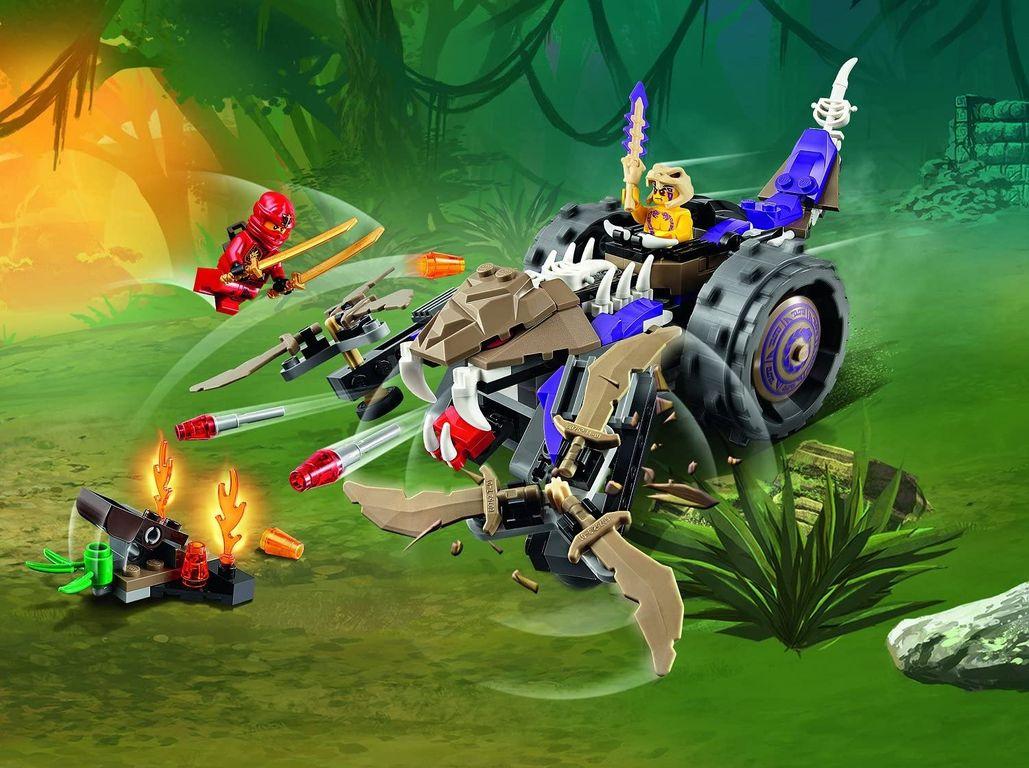 LEGO® Ninjago Anacondrai Crusher gameplay