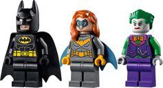 LEGO® DC Superheroes Batman™ vs. The Joker™: Batmobile™ Chase minifigures