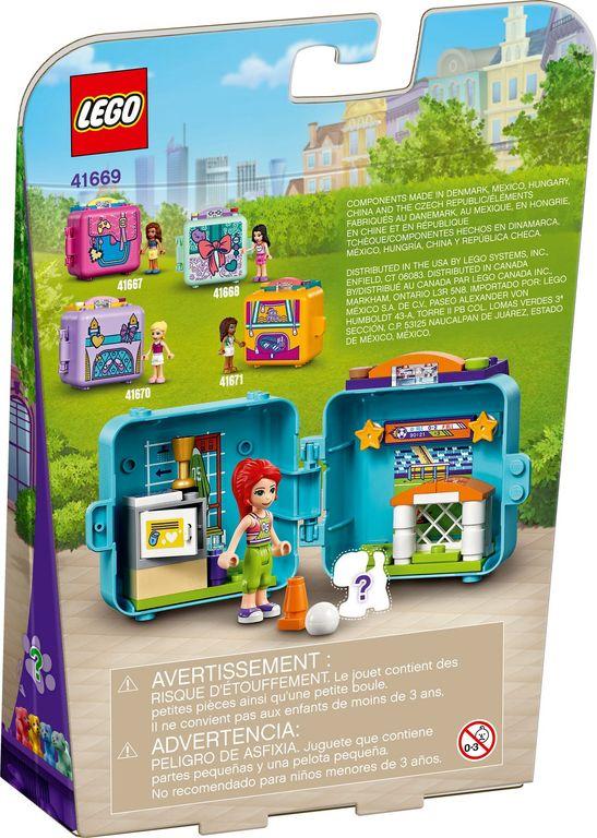 LEGO® Friends Mia's Soccer Cube back of the box