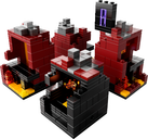 LEGO® Minecraft LEGO Minecraft The Nether 21106 components
