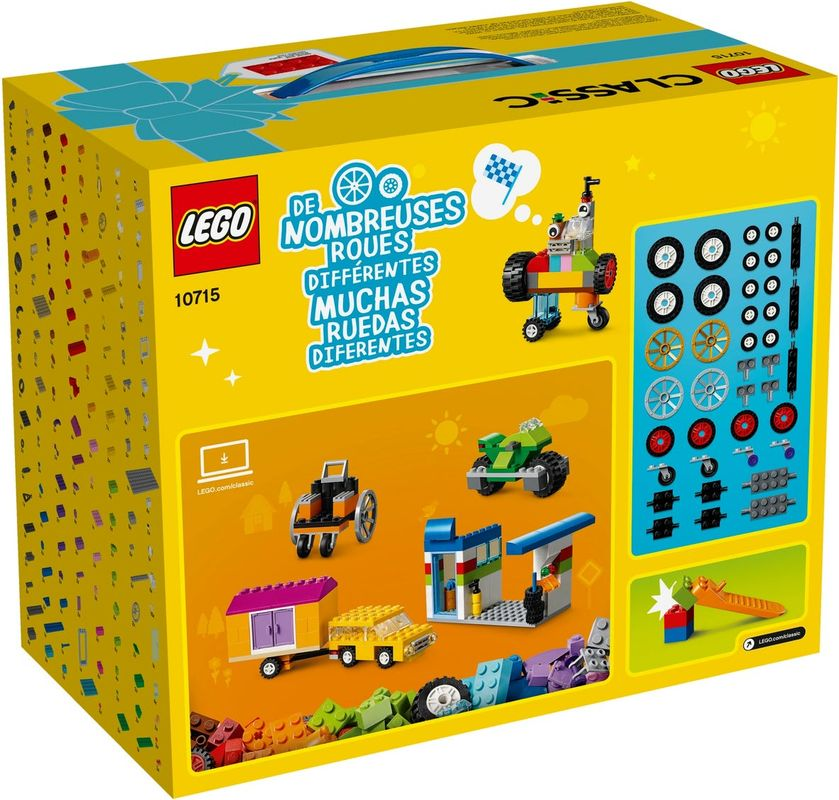 Bricks on a Roll back of the box