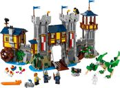 LEGO® Creator Medieval Castle components