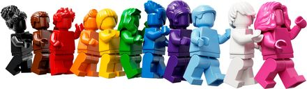 Everyone Is Awesome minifigures