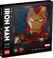LEGO® Art Marvel Studios Iron Man