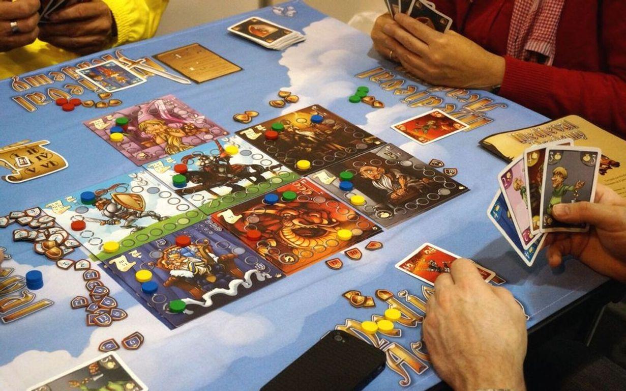 Medieval Academy gameplay