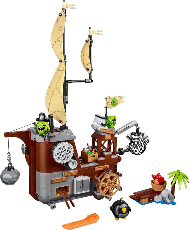 Piggy Pirate Ship components