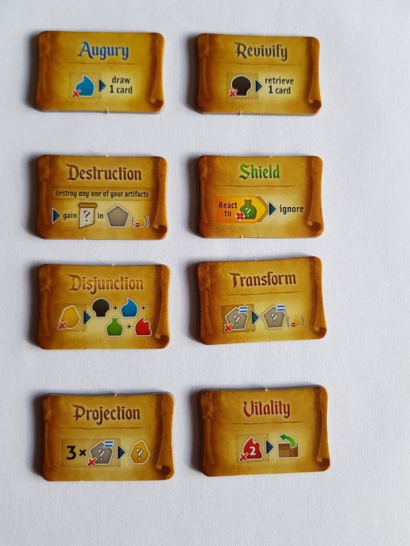Res Arcana: Lux et Tenebrae cards