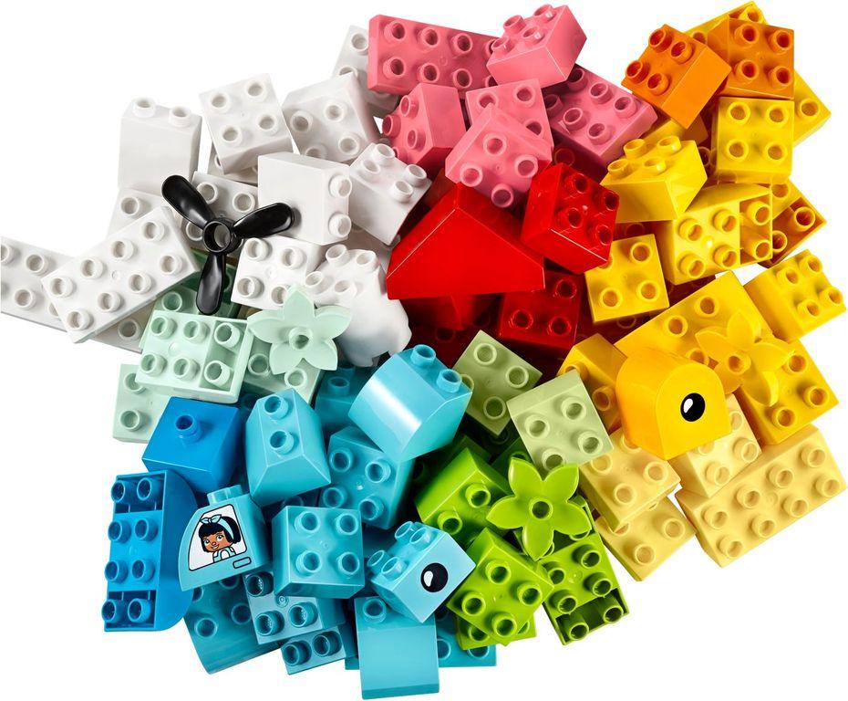 LEGO® DUPLO® Heart Box components