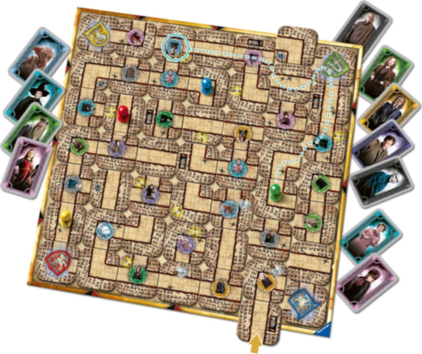 Harry Potter Labyrinth components