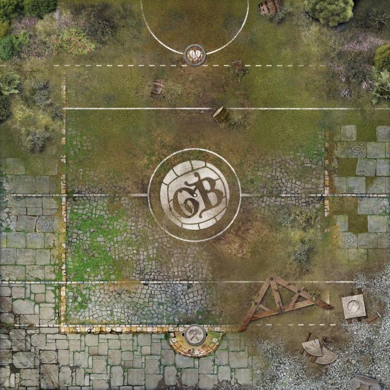 Guild Ball: Kick Off! game board