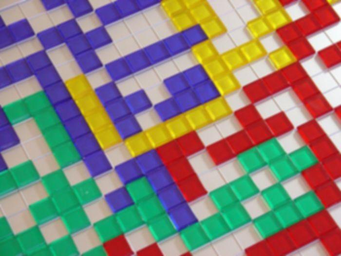 Blokus gameplay