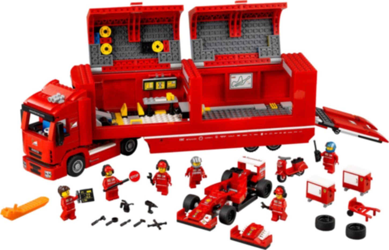F14 T & Scuderia Ferrari Truck components