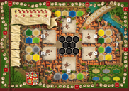 The Castles of Burgundy (20th Anniversary) game board