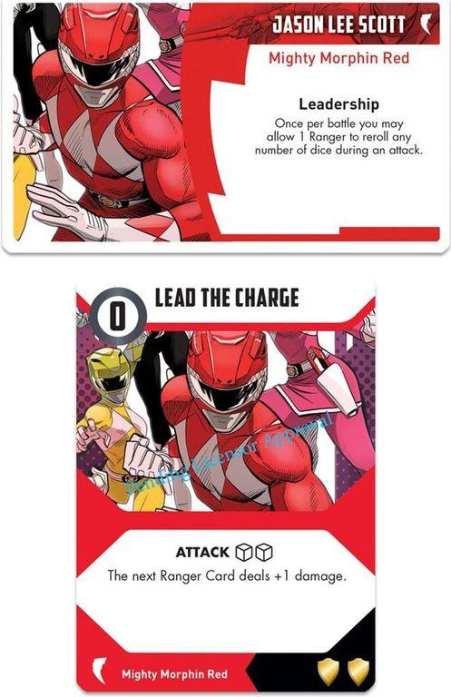 Power Rangers: Heroes of the Grid Jason Lee Scott card