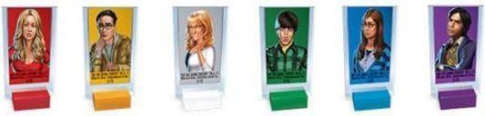 CLUE: The Big Bang Theory characters