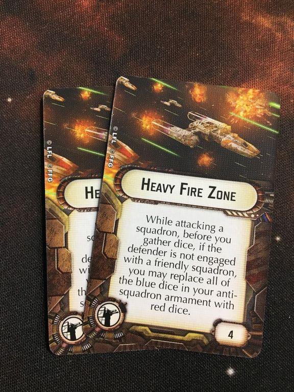 Star Wars: Armada - Nadiri Starhawk Expansion Pack cards