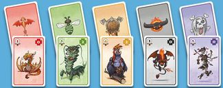 Mighty Monsters cards