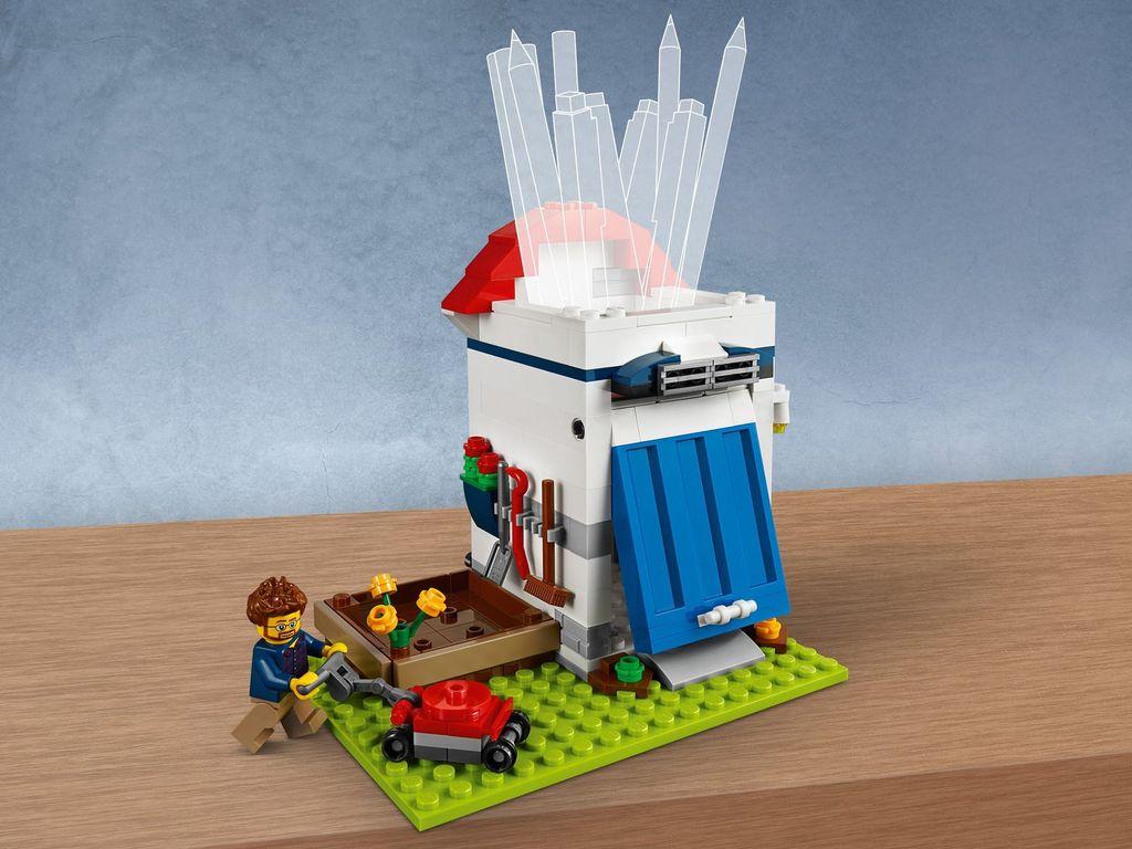 LEGO® Pencil Pot components