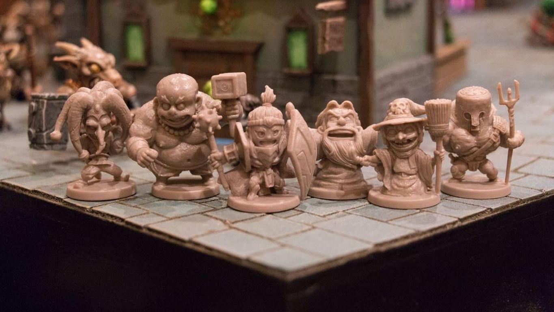Arcadia Quest: Inferno miniatures