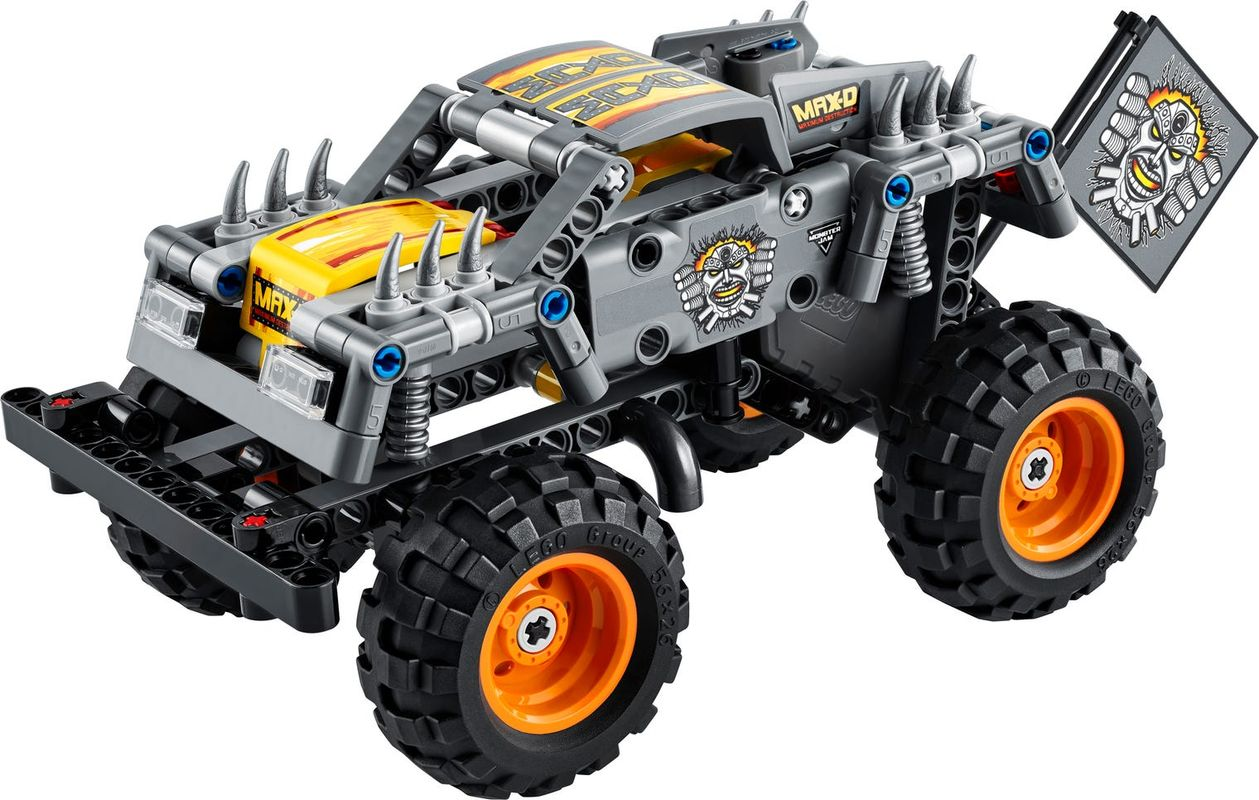 Monster Jam® Max-D® components
