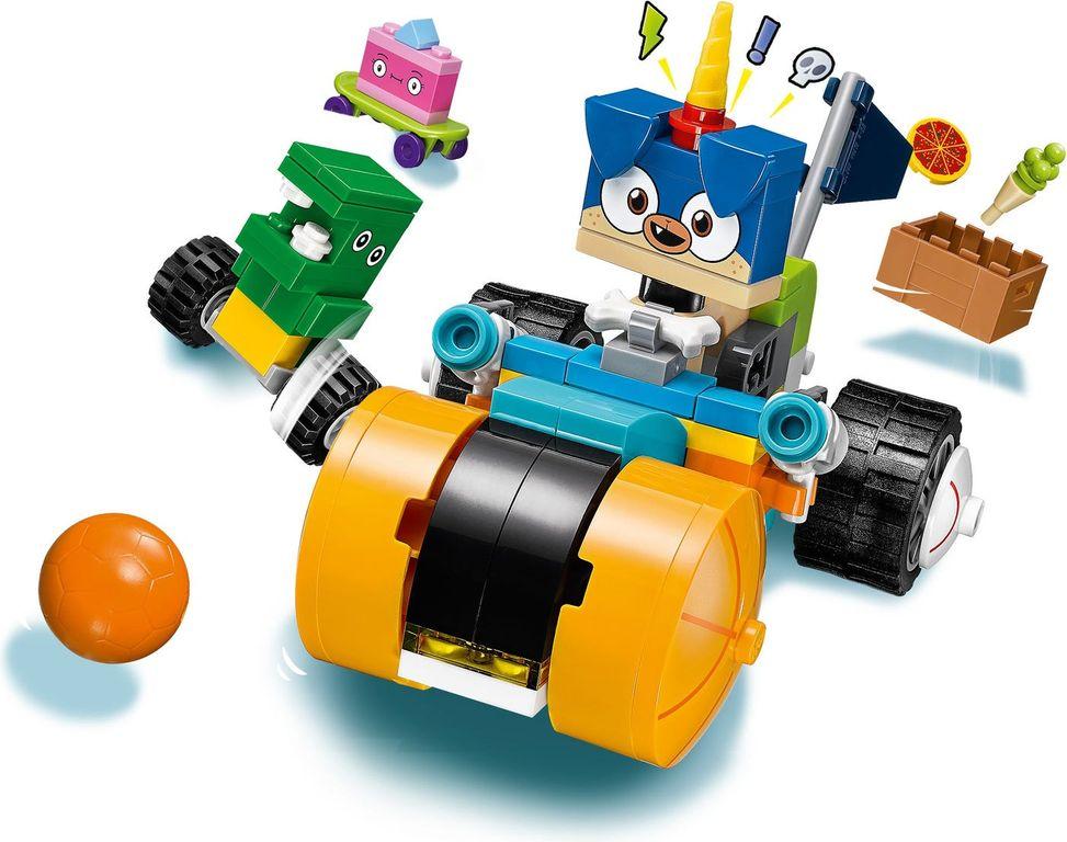 LEGO® Unikitty! Prince Puppycorn Trike gameplay