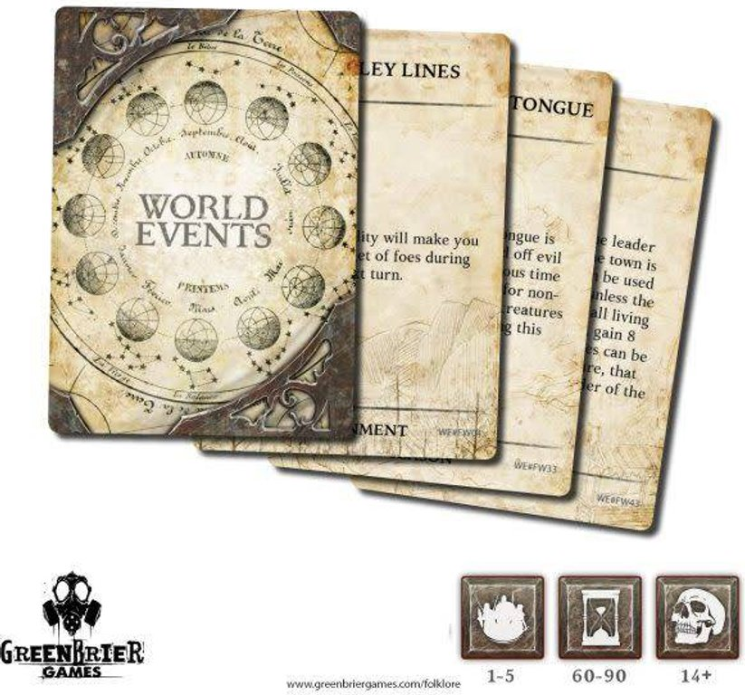 Folklore: The Affliction - World Events cards