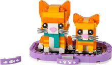 LEGO® BrickHeadz™ Ginger Tabby components