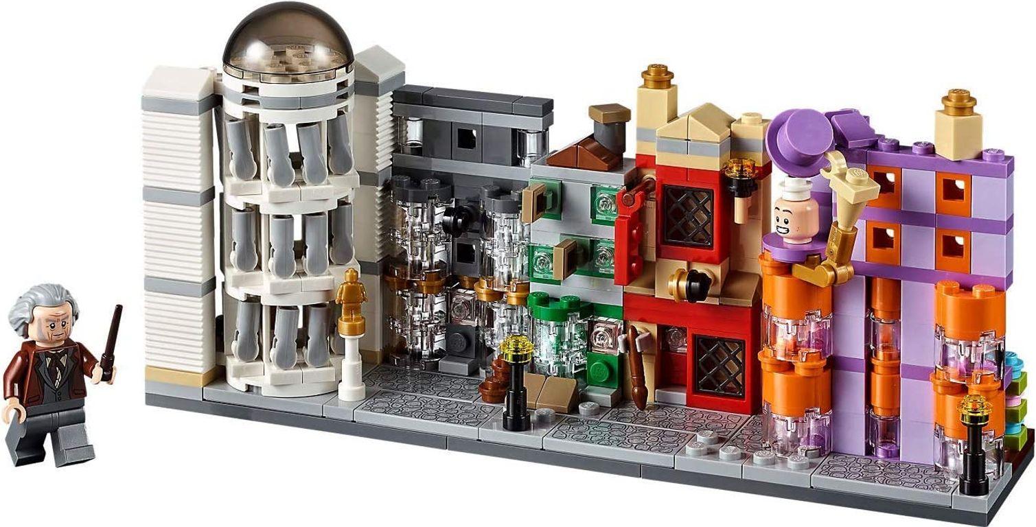 LEGO® Harry Potter™ Diagon Alley Mini Building Set components