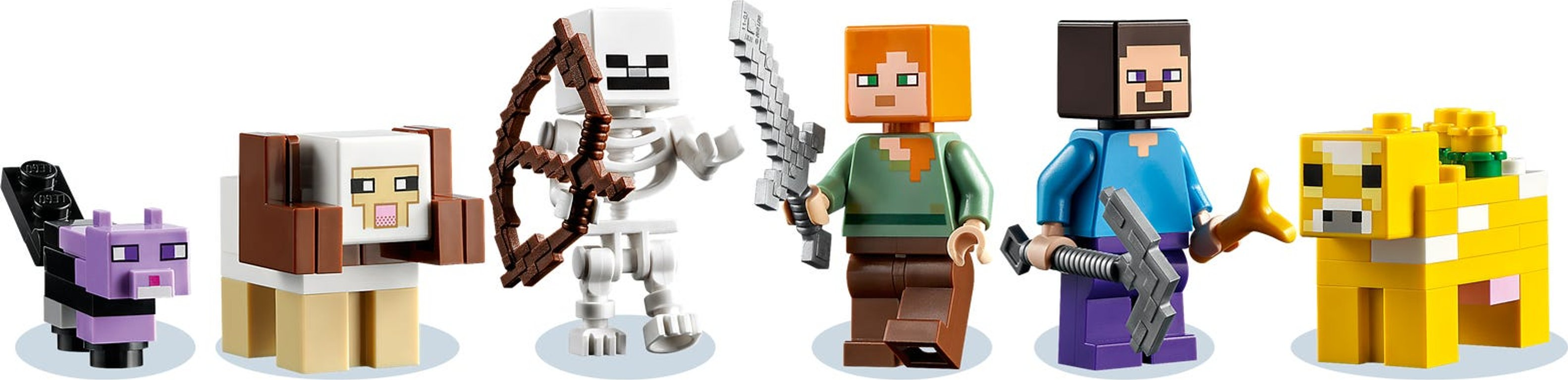 LEGO® Minecraft The First Adventure minifigures