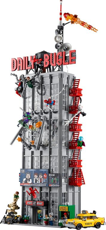 LEGO® Marvel Daily Bugle components