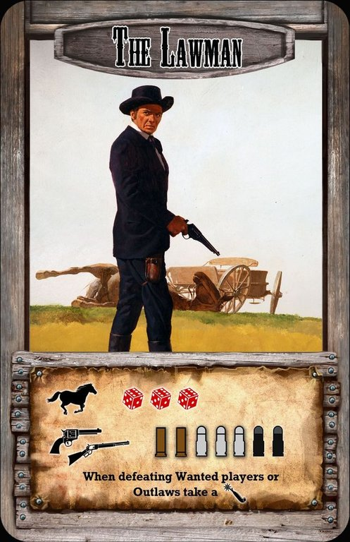 Spurs: A Tale in the Old West The Lawman card