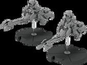 Star Wars: Legion - 74-Z Speeder Bikes Unit Expansion miniatures