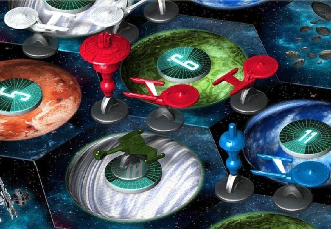 Star Trek: Catan miniatures