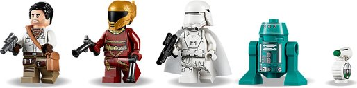 Resistance Y-Wing Starfighter™ minifigures