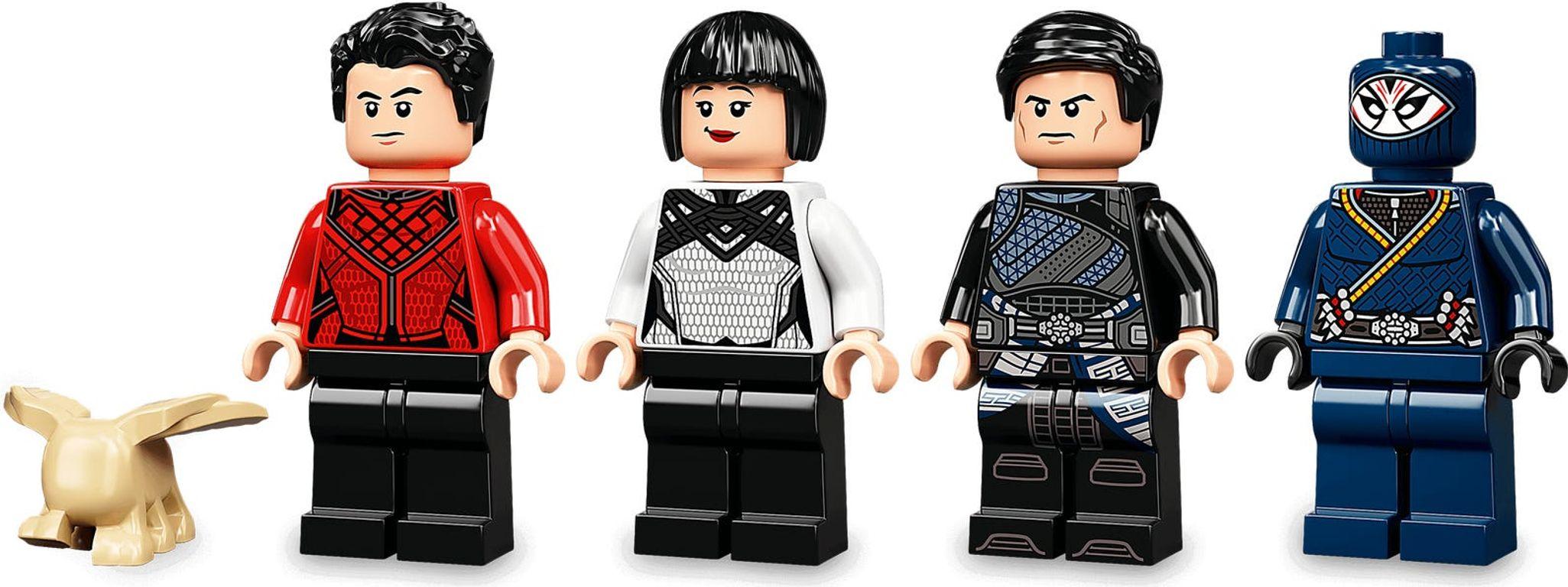LEGO® Marvel Battle at the Ancient Village minifigures