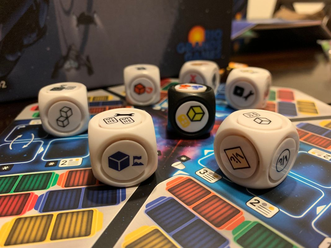 Roll for the Galaxy: Rivalry dice