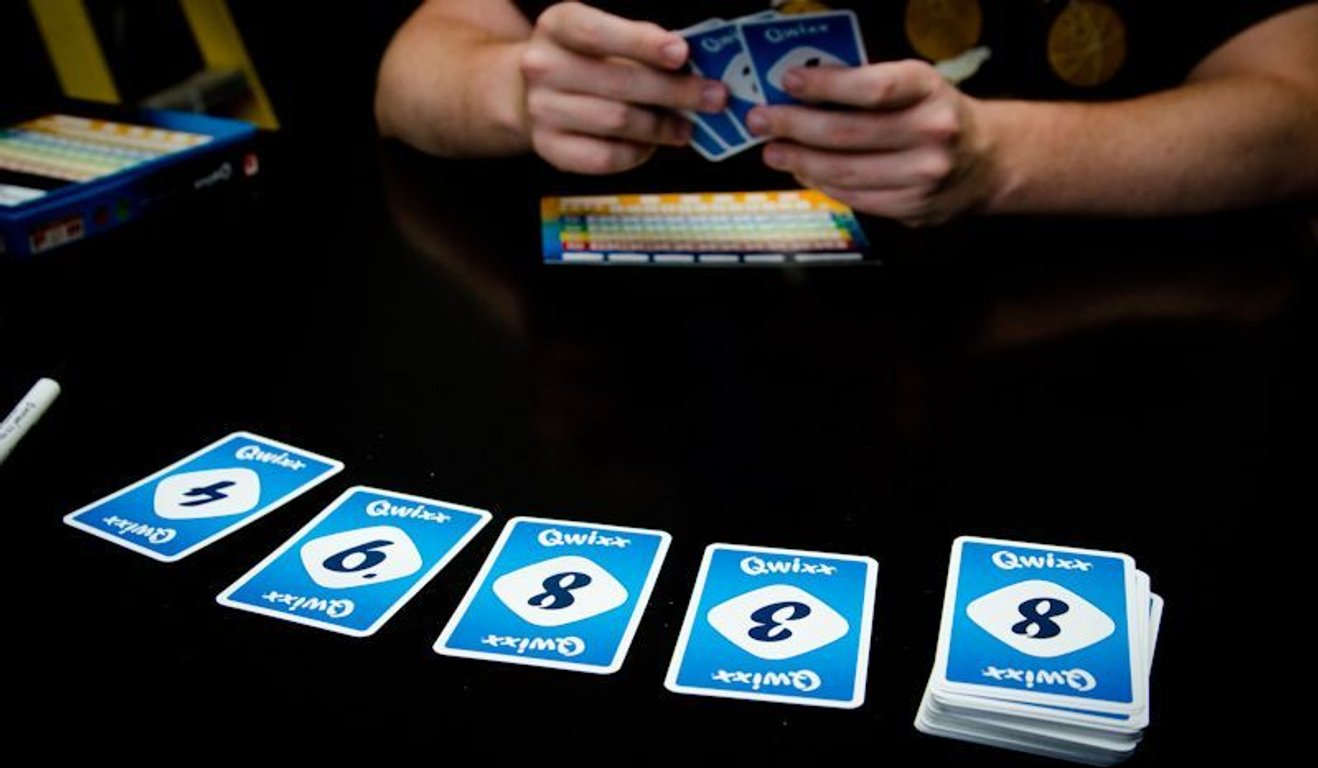 Qwixx Card Game cards