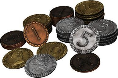 Clans of Caledonia Metal Coins