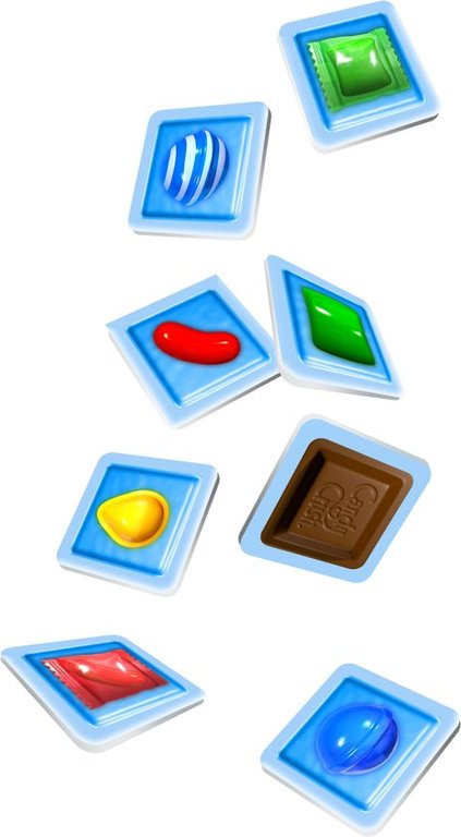 Candy Crush: The Boardgame tiles